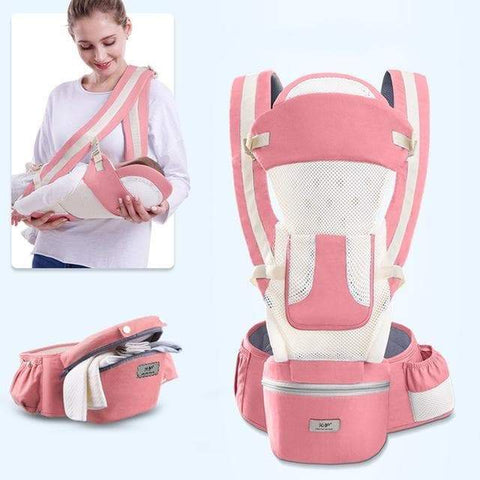 SportsChest STORE summer-pink 0-48M Ergonomic Front Facing Baby Carrier