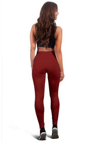 Image of SportsChest STORE Waterloo Wolves Women's Red Leggings