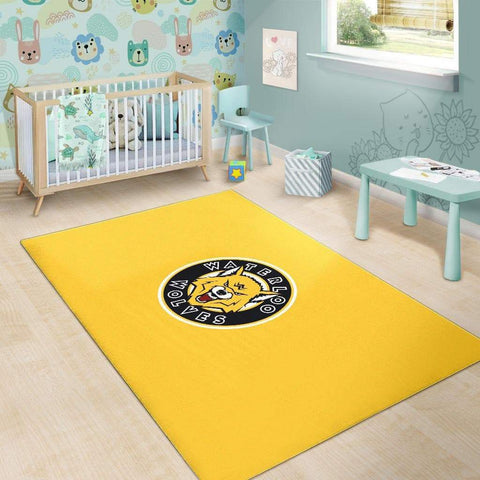 SportsChest STORE Waterloo Wolves Yellow Area Rugs
