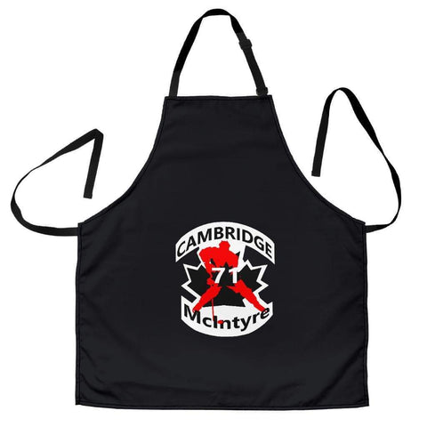 SportsChest STORE Women's Apron - #71 McIntyre Cambridge Black Apron / Universal Fit #71 McIntyre Cambridge Apron