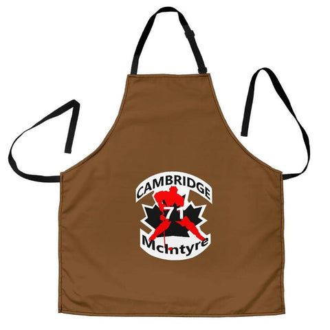 SportsChest STORE Women's Apron - #71 McIntyre Cambridge Brown Apron / Universal Fit #71 McIntyre Cambridge Apron