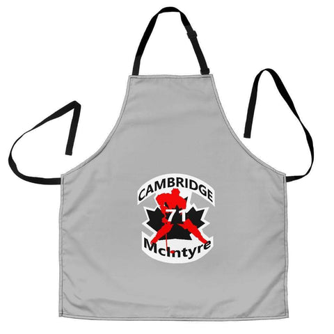 SportsChest STORE Women's Apron - #71 McIntyre Cambridge Grey Apron / Universal Fit #71 McIntyre Cambridge Apron