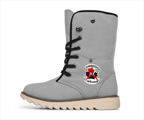 Image of SportsChest STORE Women's Polar Boots - #83 Lahey Cambridge Hockey Grey Polar Boots / US4.5 (EU35) #83 Lahey Cambridge Hockey Polar Boots