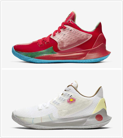 Image of SportsChest STORE Basketball Shoes   Sponge x Kyrie Low 2 Mr. Krabs