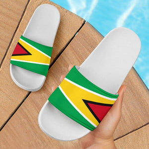 SportsChest Women's - White - Guyana Slide Sandals / US5 (EU36) Guyana Slide Sandals