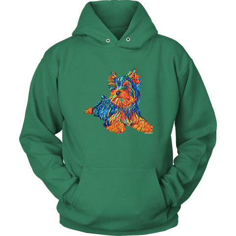 Image of teelaunch T-shirt Unisex Hoodie / Kelly Green / S Multi - Color Shih tzu Hoodie