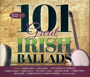 101 Great Irish Ballads (5 CD Set)