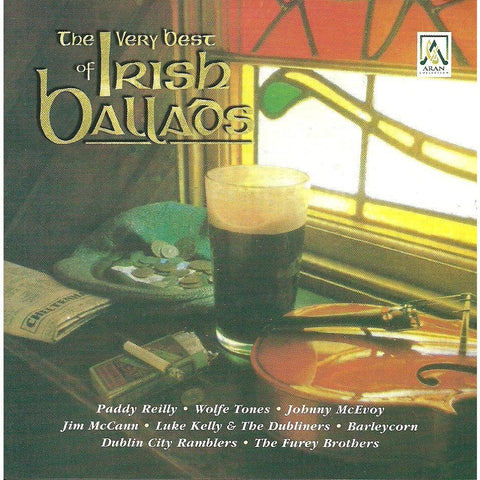 CD - The Very Best of Irish Ballards