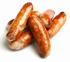 Paddy's Irish Pork Sausages thin.