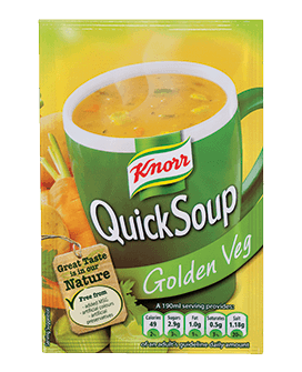 Knorr Quick Soup Golden Vegetable 3pk