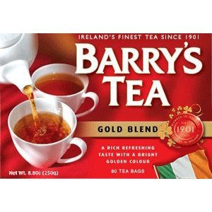 Barry's Tea Gold Blend T-Bags 80's