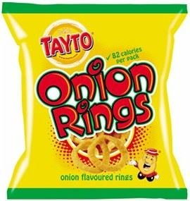 Tayto Onion Rings .