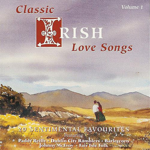CD - Classic Irish Love Songs Vol 1