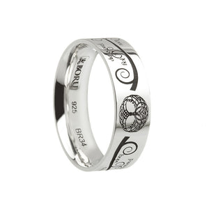Irish Tree of Life Ring