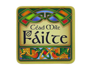 Cead Mile Failte Irish Celtic Coaster