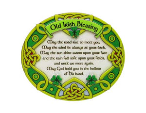 Irish Blessing Celtic Resin Magnet