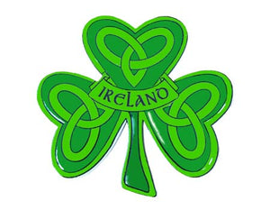 Shamrock Irish Resin Magnet