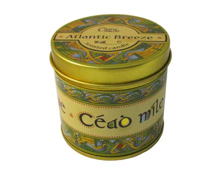 Atlantic Breeze Fragrance Candle - Cead Mile Failte