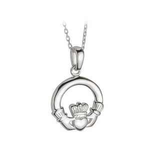 Claddagh Pendant Sterling Silver S4683