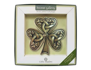 Shamrock Bronze Plaque.
