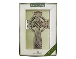 Bronze Celtic Cross Plaque