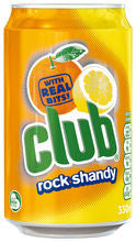 Club Rock Shandy 330ml