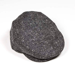 Tweed Cap - Donegal Charcoal .  H91