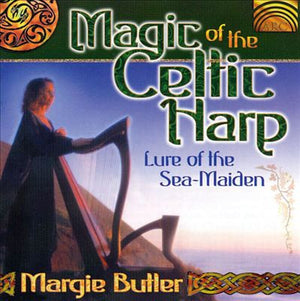 CD - Margie Butler Magic of The Celtic Harp Lure of The Sea Maiden