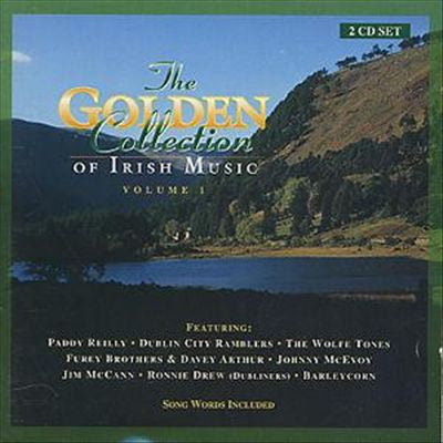 CD - The Golden Collection of Irish Music Vol 1 2 CD Collection