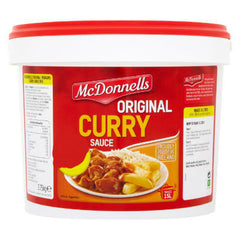 McDonnells Curry Sauce 15Litres Large.