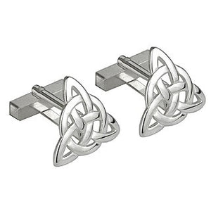 Cufflinks - Trinity Knot Sterling Silver