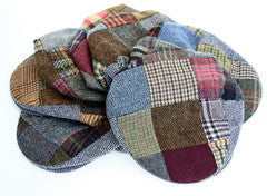 Tweed Cap - Donegal Patchwork Cap