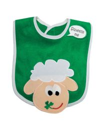 Baby Bib Irish Sheep.