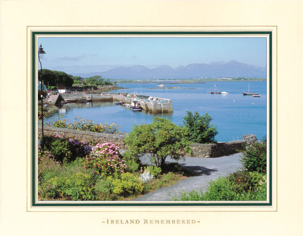 Ireland Remembered Photo Collection Roundstone Harbour Connemara.