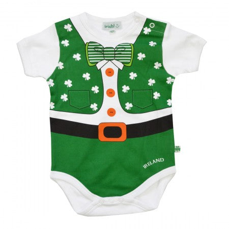 Baby Jump Suit Green.