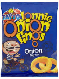 Tayto Jonnie Onion Rings 28g