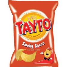 Tayto Smoky Bacon.