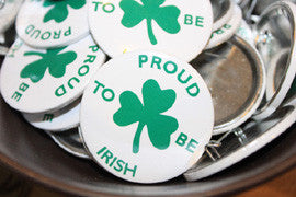 Proud to Be Irish Badge.