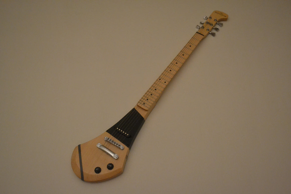 The Irish 6 String Hurling Stick Electric Guitar. Includes amplifier.