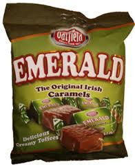 Oatfield Emerald Original Irish Caramels 150g