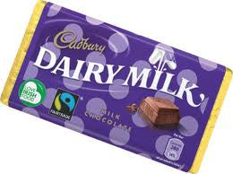 Cadbury Dairy Milk Chocolate 53g