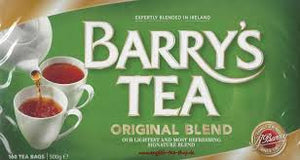 Barry's Tea Irish Original Blend, Irish BreakfastT-Bags 80's.