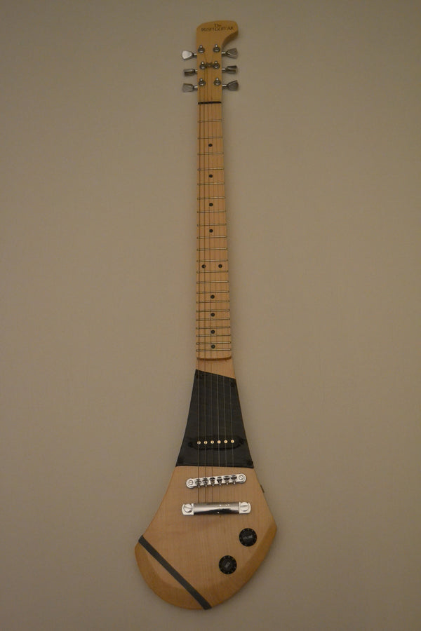 The Irish 6 String Hurling Stick Electric Guitar Includes