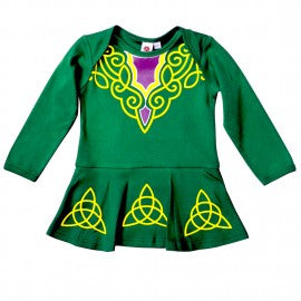 Baby jump suit Irish dancer