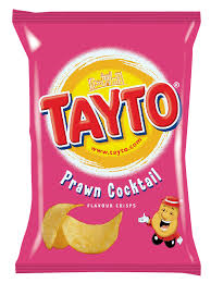 Tayto Prawn Cocktail..