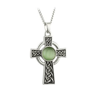 Celtic Cross Pendant With Infinity Knot