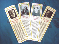 Bookmark - Irish Writers Bookmarks