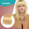 3D Clip-In Bangs Hair Extensions - [48 Hour Sale - 80% Off!]