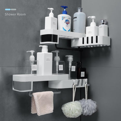 Corner Bathroom Shelf