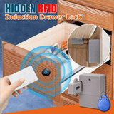 Hidden RFID Induction Drawer Lock
